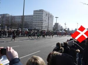 Elite correndo em Berlim