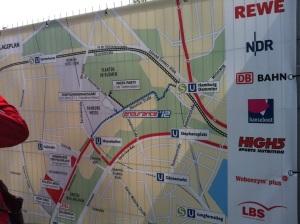 Percurso da maratona de Hamburgo